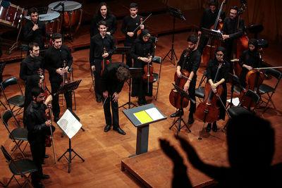 ارکستر نیلپر در دومین فستیوال موسیقی معاصر تهران