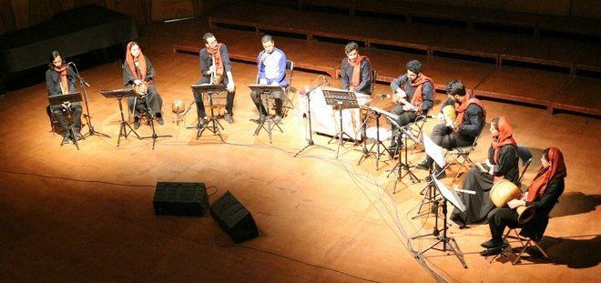 درخشش گروه موسیقی تیروژ در تالار رودکی
