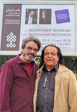 حسین علیزاده: کمتر کسی را مانند علی رهبری تا این اندازه وطنپرست و هنرمند دیدهام