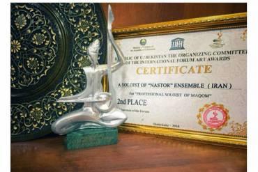گروه موسیقی «نستار» مقام دوم جشنواره موقام ازبکستان را کسب کرد