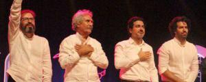 کنسرت همایون شجریان و گروه شمس با حضور نوادهی مولانا برگزار شد